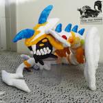 Rainbow Dragon - Custom Plush Commission