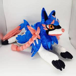 Custom Zacian - Pokemon Inspired Plush