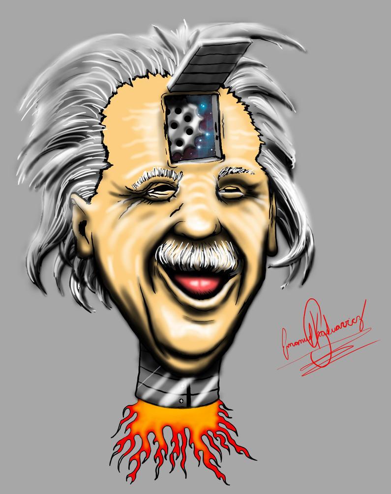 Einstein by emanuelkuduavicz