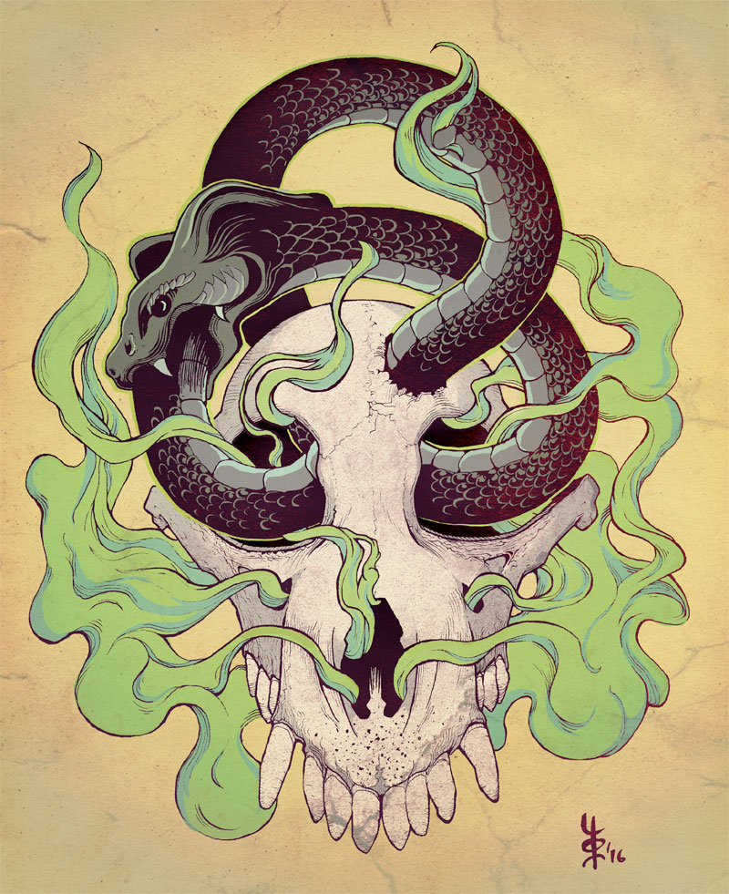 Ouroboros Tattoo Design by tomaslalala