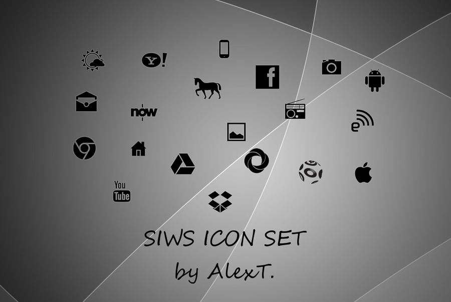 SIWS icon set by at428hk by at428hk