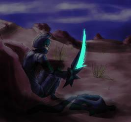 Desert Night by LedZaid
