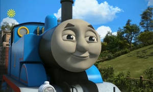 Thomas' horny face
