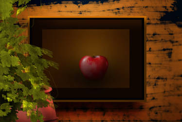 Apple in the frame by webdesigncreatives