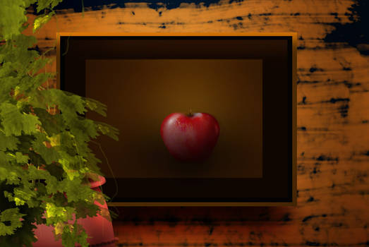 Apple in the frame