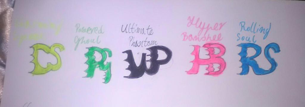 PowerHalfas symbols by MarieAngel04