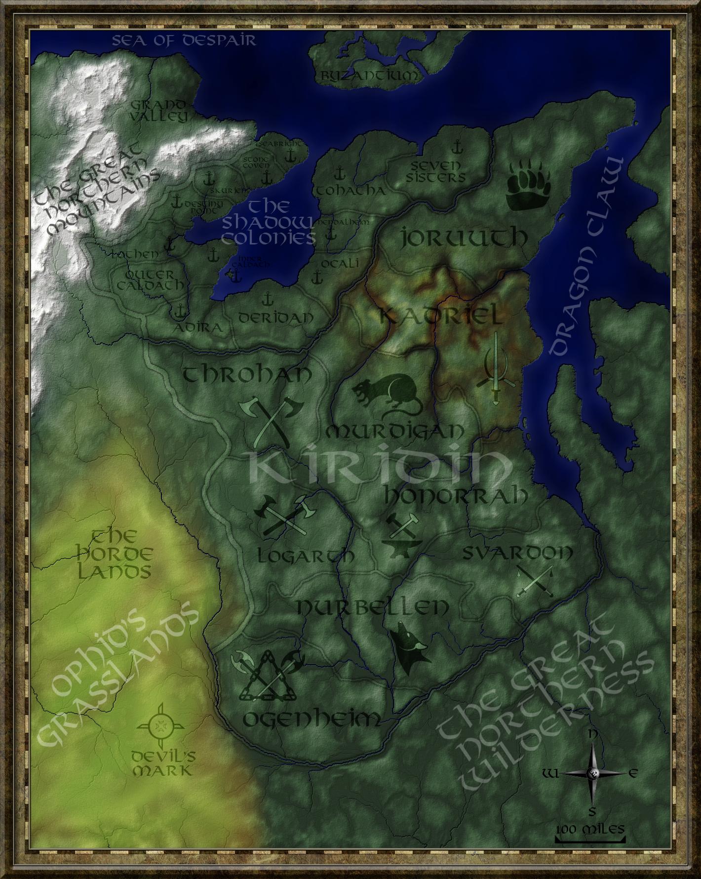 Kiridin Lands Complete by FeroceFV