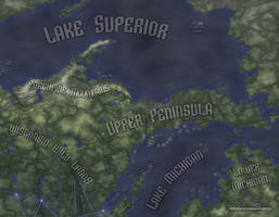 Physical Geography, Upper Peninsula (Rifts RPG) by Will-Erwin