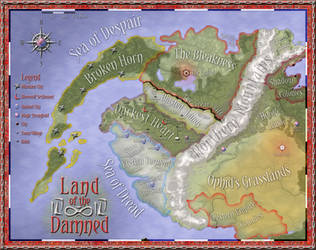 The Land of the Damned by Will-Erwin