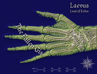 Laevus, Land of Exiles by Will-Erwin