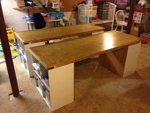 Tables for Legos, Arts, and Crafts