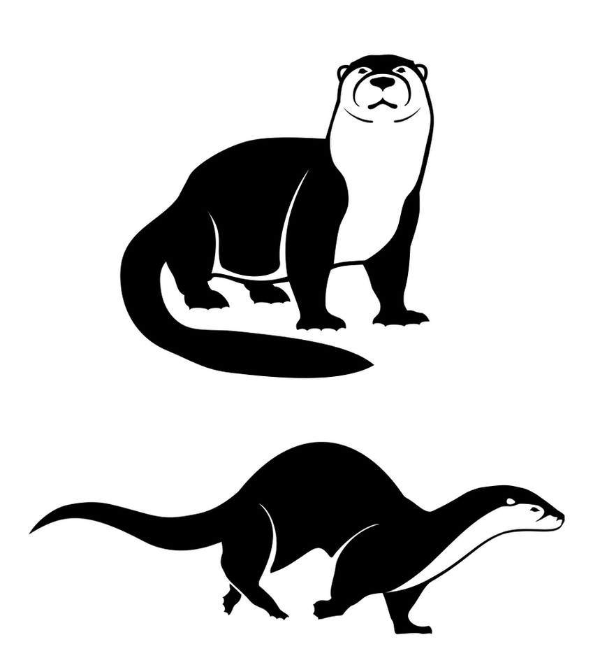 Otter Icons by Will-Erwin