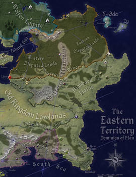 The Eastern Territory: Political Geography