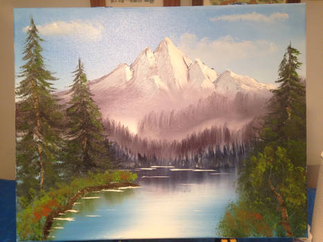 Our First Oil Painting