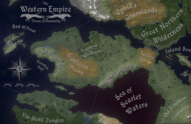 Western Empire Natural Geography by Will-Erwin