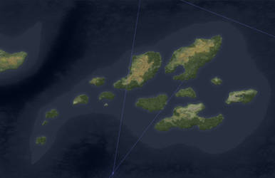 The Floenry Isles (Bare Geography)