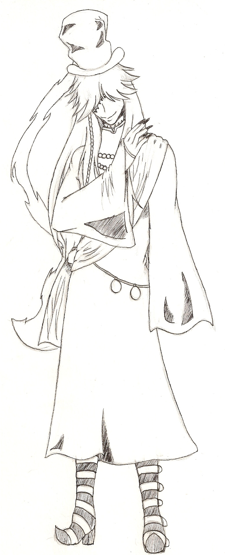 Undertaker Colouring Pages