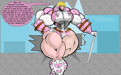 Beefy Gwenpool by BigHouseOfLove