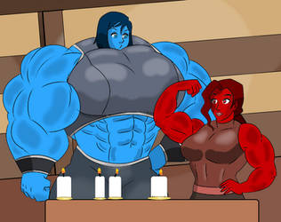 Korrasami Hulking Love by BigHouseOfLove