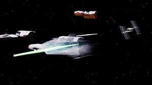 Star Wars dogfight