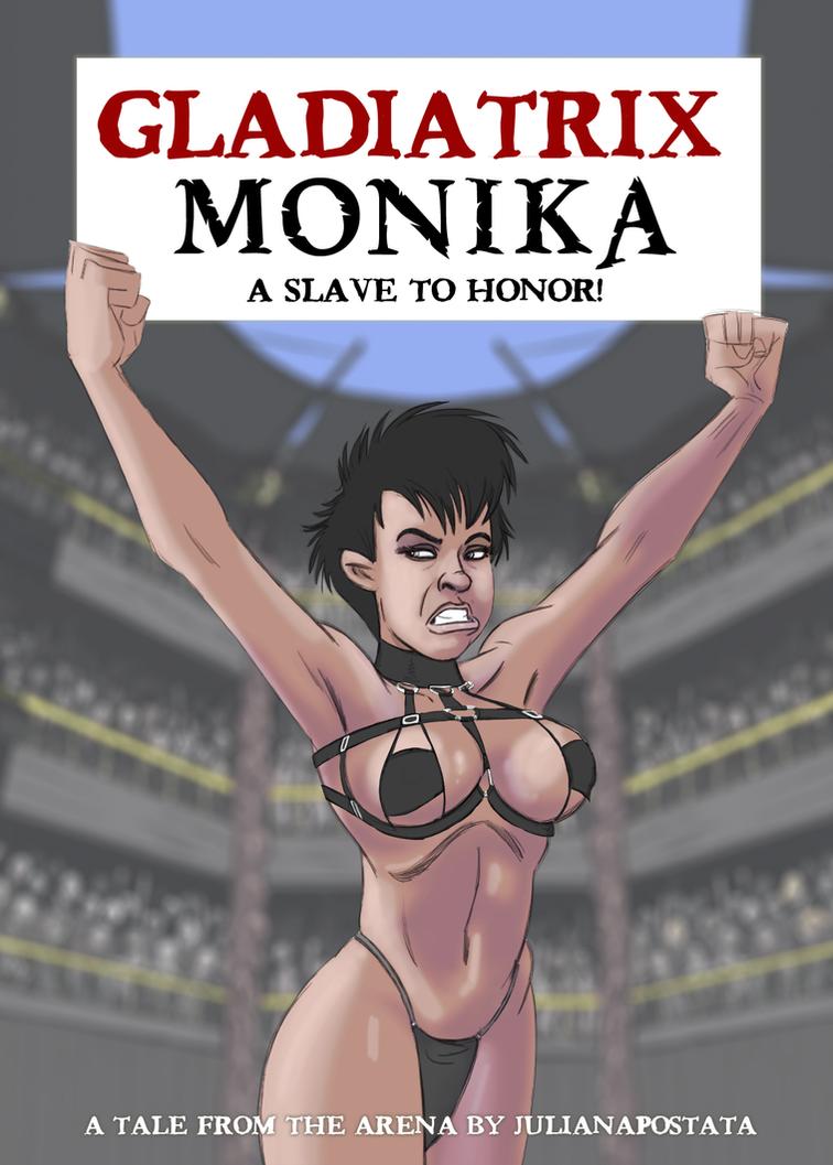 gladiatrix monika, ch1, cover by julianapostata