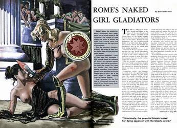 romes naked girl gladiators cavalcade1959 col by julianapostata