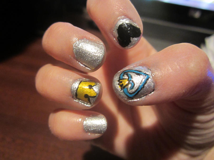 Kingdom Hearts Nail Art by takory on DeviantArt