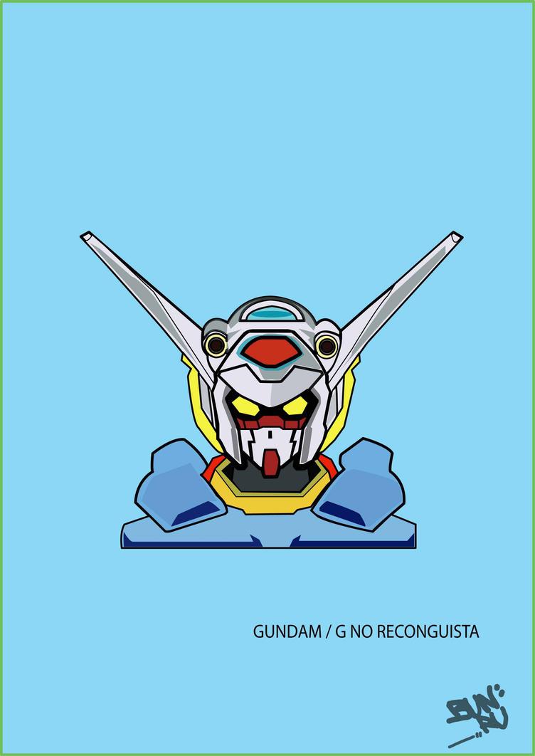 g-self vector/ gundam g no reconguista by keruji