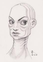 2018-05-16 sketchbook sketch - #mermay by cyphic