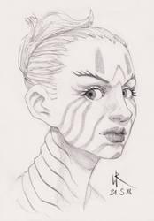 2018-05-31 sketchbook sketch - #mermay