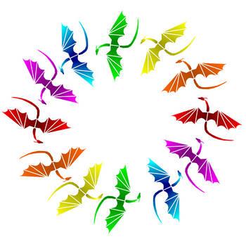 Dragonwings: White by dragon-sigma