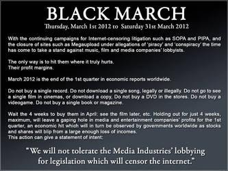 Black March, Help Anonymous! by XxSpikesxX