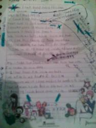 My writting process by XxSpikesxX