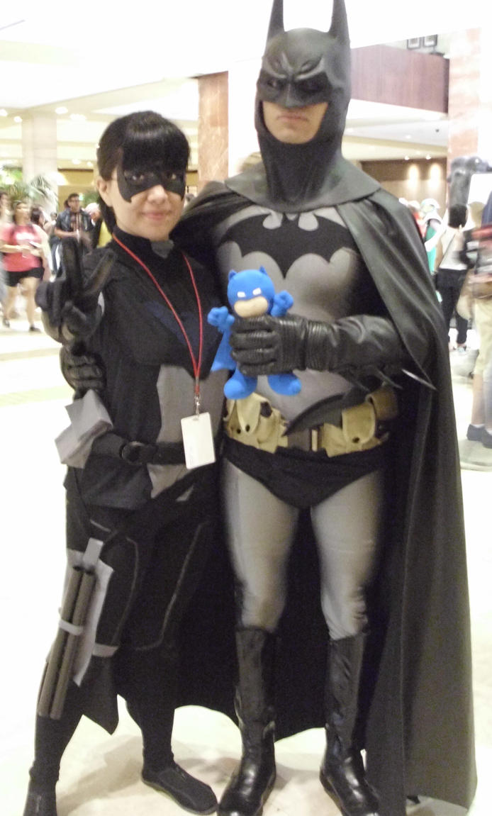 Batman and young justice Nightwing by luna116 on DeviantArt