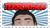 Terroriser stamp by Stamps-ForWhoWant