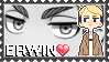 :SNK Erwin stamp: by Stamps-ForWhoWant