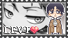 :SNK Levi stamp: by Stamps-ForWhoWant