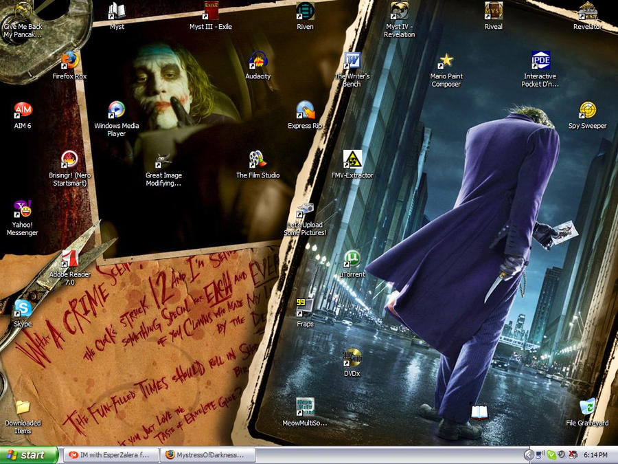 My Desktop Was Too Serious...