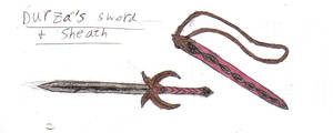 Durza's Sword and Sheath