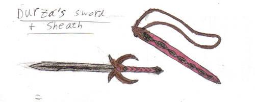 Durza's Sword and Sheath