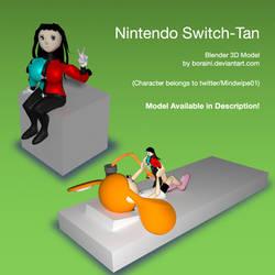Request of Howiezowie: Nintendo Switch-Tan v0.9 by Boraini