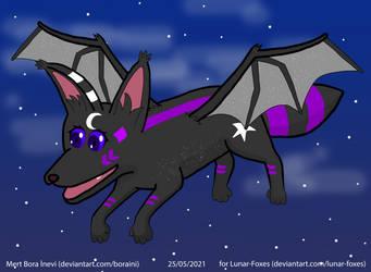 Request of Lunar-Foxes - Her OC, Luna