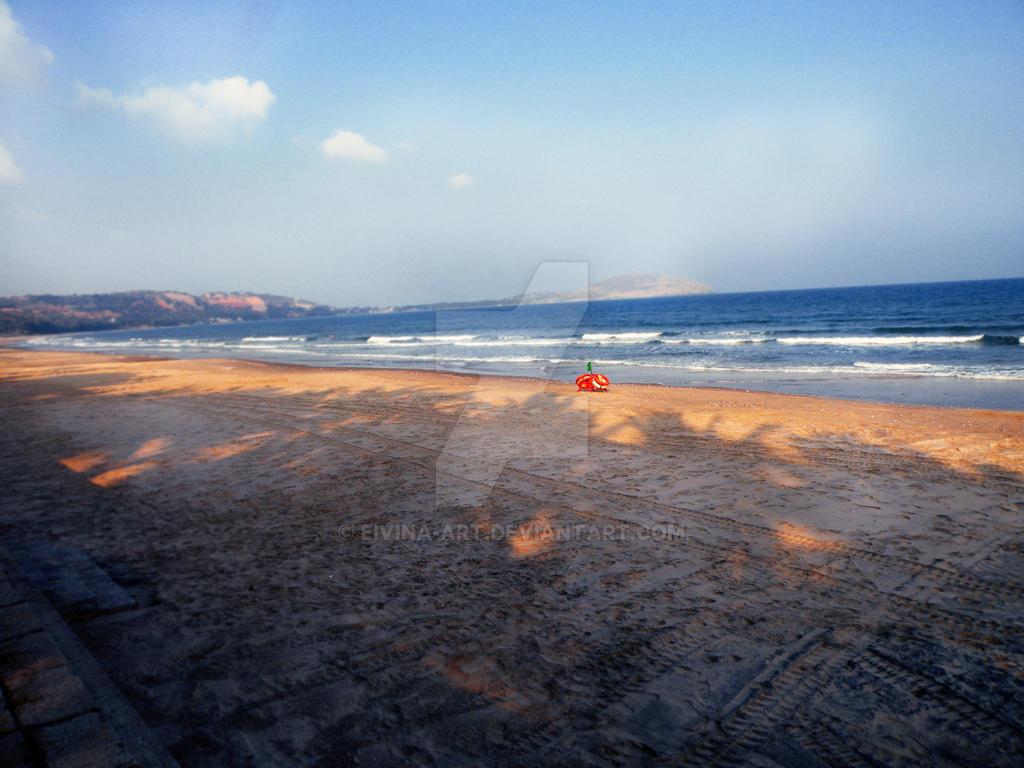 Empty Beach by eivina-art