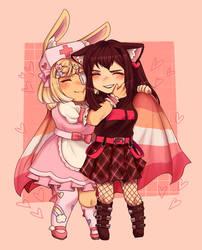 oc | happy lesbian day !!