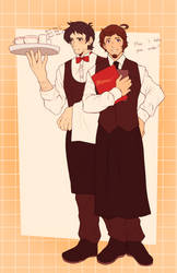 at | waiters!