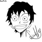 Luffy without Hat