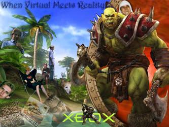 When Virtual Meets Reality by Zeris
