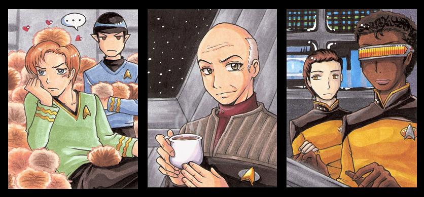 Star Trek Set by Aiko-Mustang