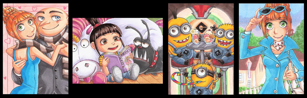 Despicable me Set by Aiko-Mustang