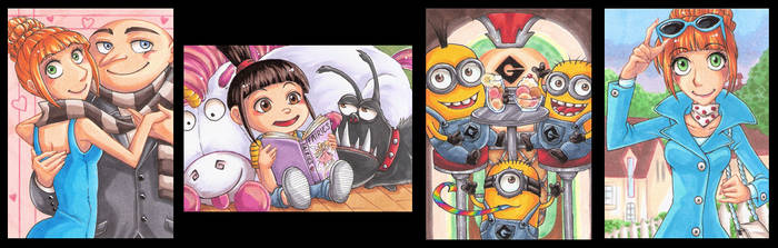 Despicable me Set by StardustLotus